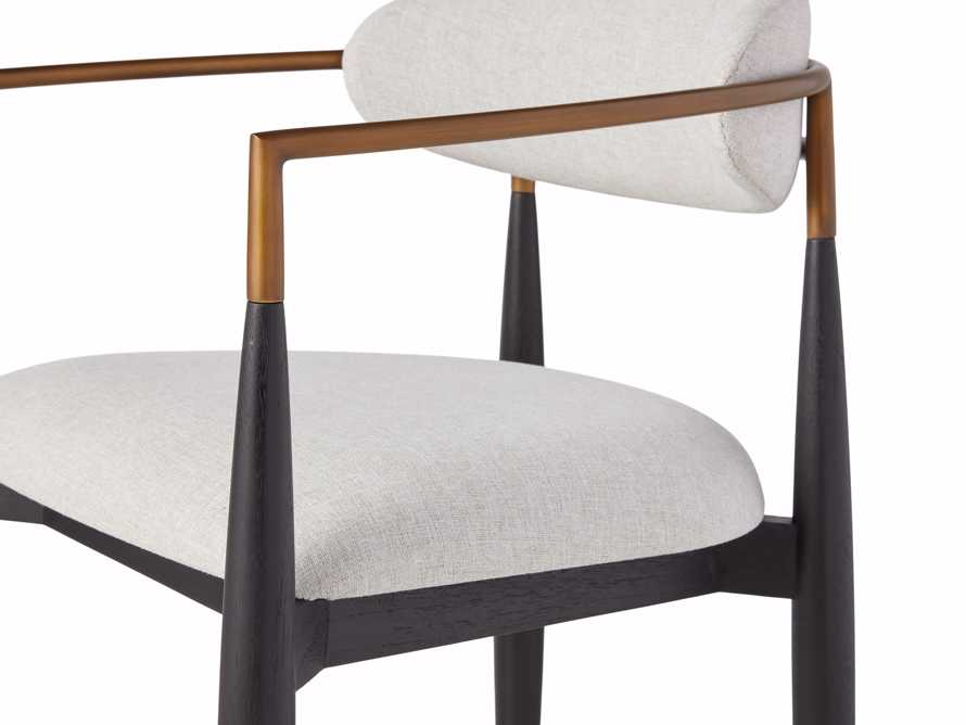 """Jagger Outdoor 22"""" Dining Arm Chair, slide 7 of 8"""