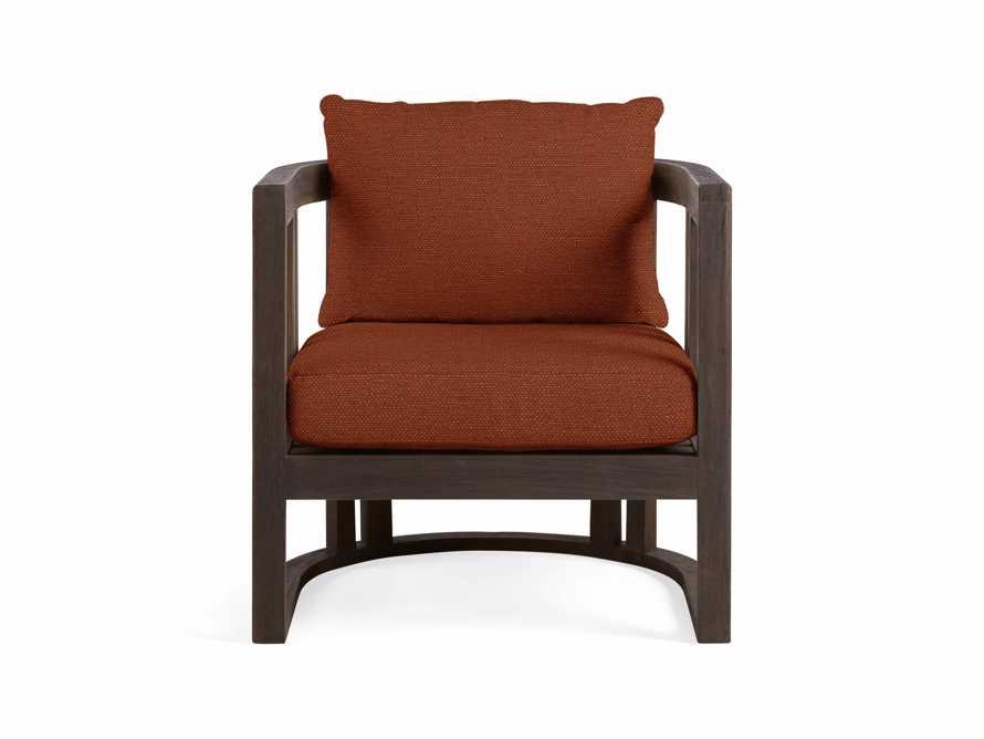 "Jhett Outdoor 28"" Lounge Chair in in Canvas Brick, slide 2 of 3"
