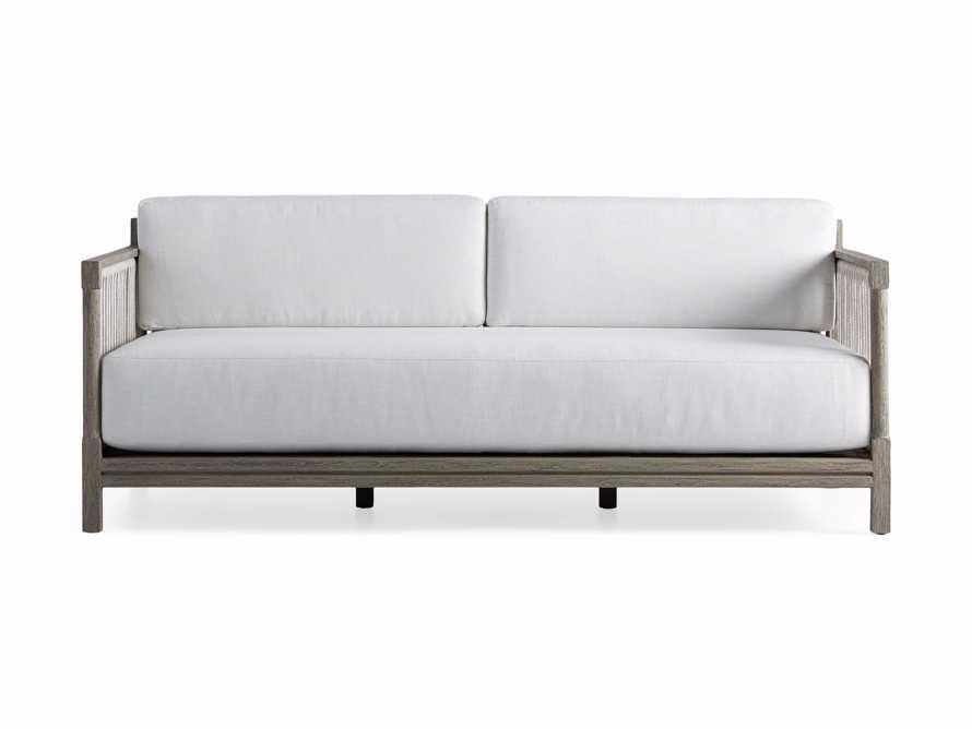 "Logan Outdoor 76"" Sofa, slide 2 of 5"