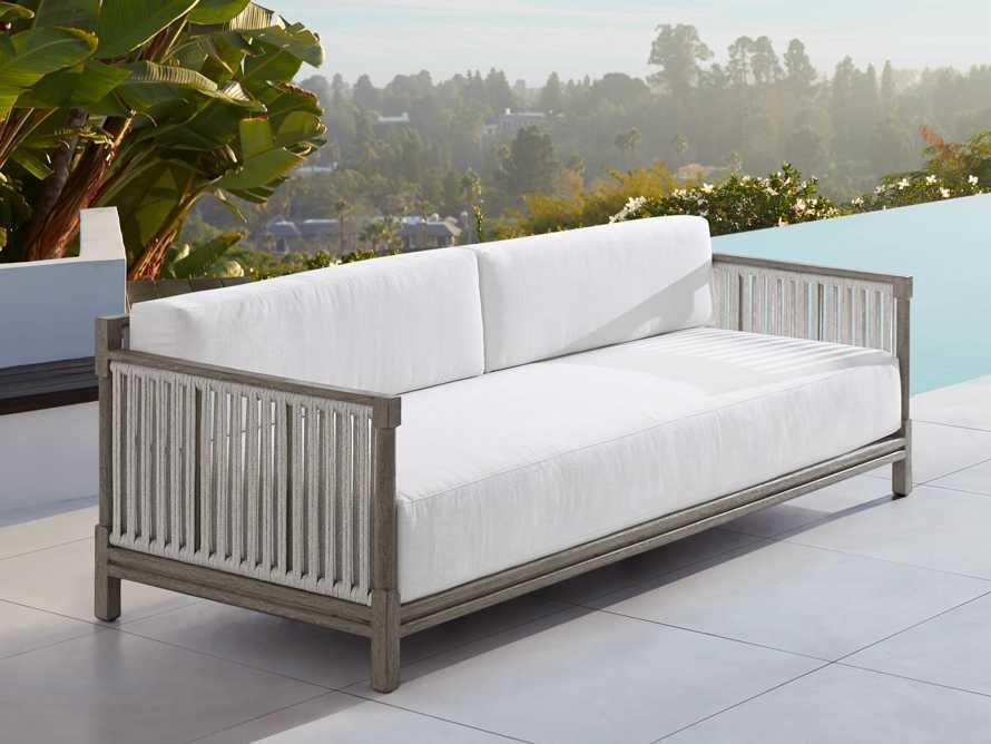 "Logan Outdoor 92"" Sofa Cushion, slide 1 of 2"