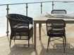 """Malawi Outdoor 18"""" Dining Arm Chair"""