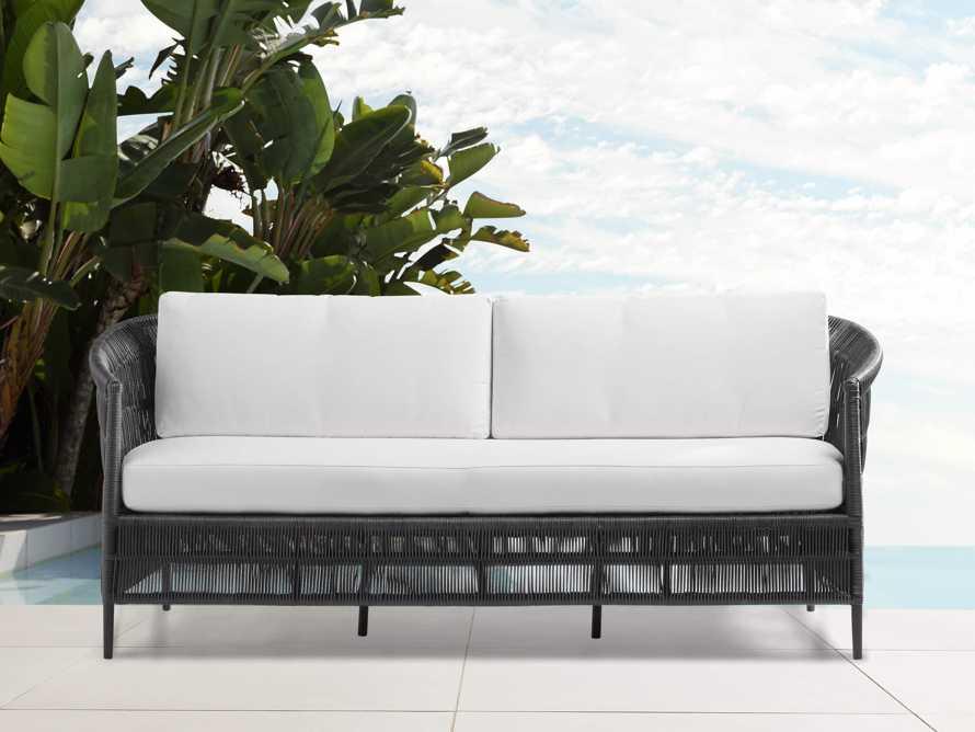 "Malawi Outdoor 81"" Sofa, slide 1 of 4"