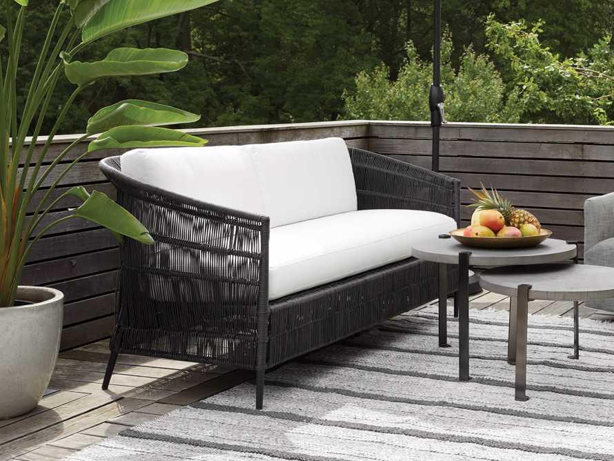 "Malawi Outdoor 81"" Sofa, slide 2 of 4"