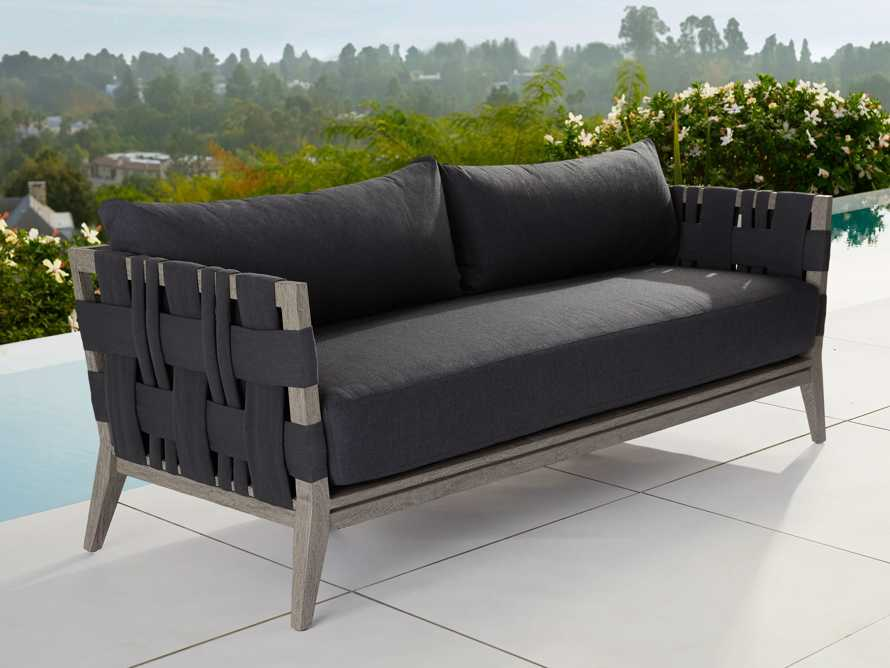 "Malang Outdoor 84"" Sofa, slide 1 of 5"