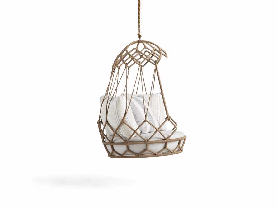 """Marina Outdoor 38"""" Hanging Chair with Rope, slide 5 of 6"""