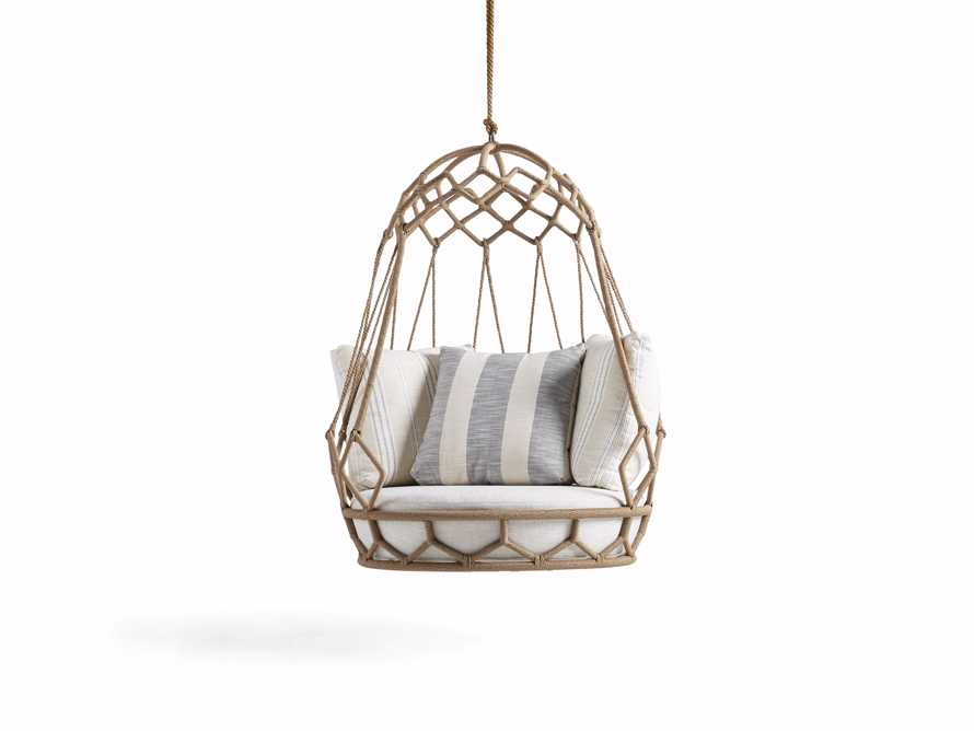 """Marina Outdoor 38"""" Hanging Chair with Rope, slide 4 of 6"""