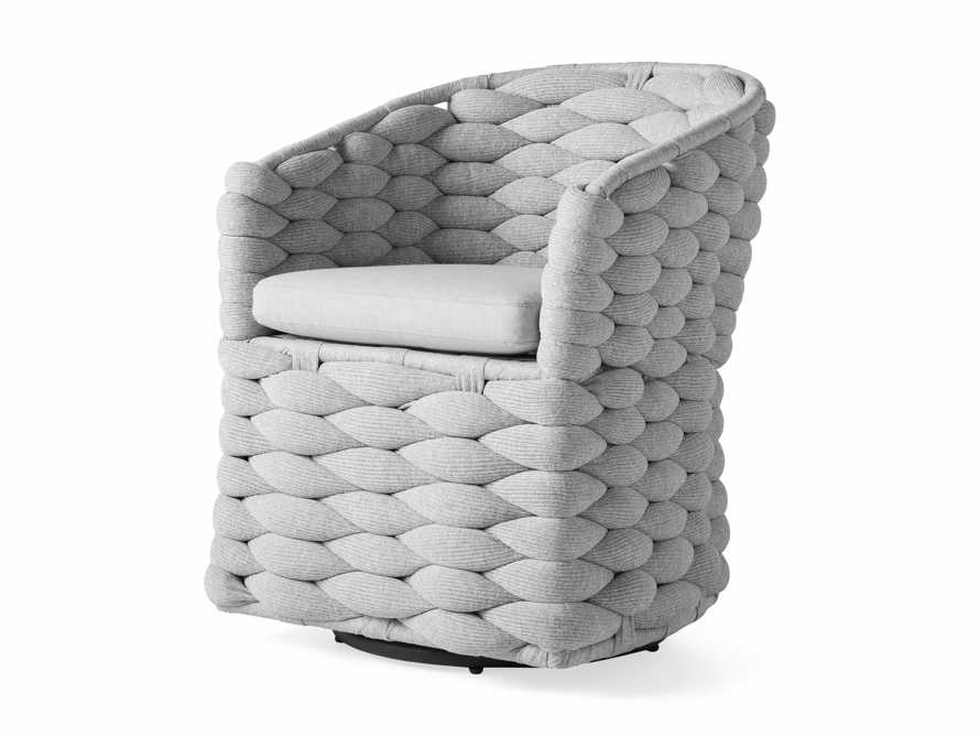 """Melbourne Outdoor Upholstered 26"""" Dining Arm Chair, slide 4 of 7"""