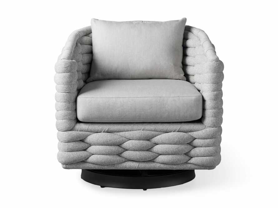 "Melbourne Outdoor Upholstered 30.5"" Swivel Chair, slide 3 of 7"