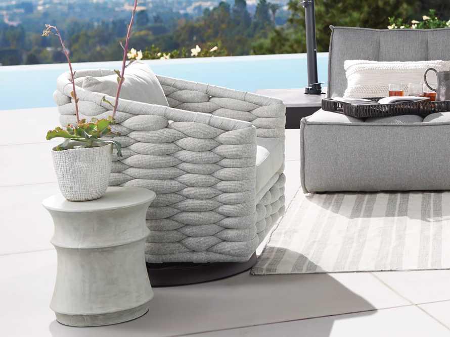 "Melbourne Outdoor Upholstered 30.5"" Swivel Chair, slide 2 of 7"