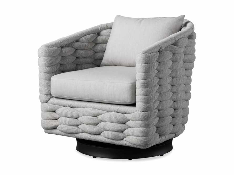 "Melbourne Outdoor Upholstered 30.5"" Swivel Chair, slide 4 of 7"