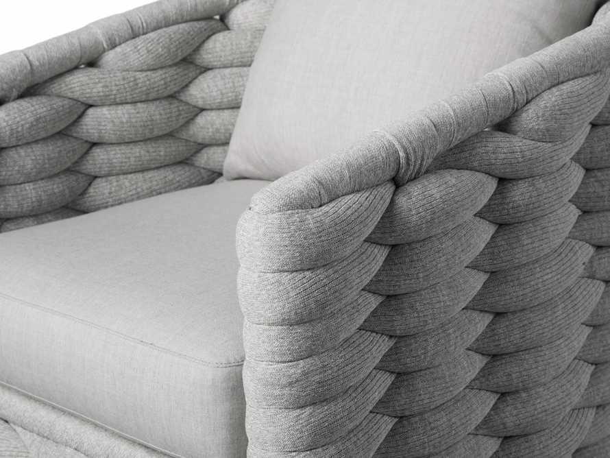 "Melbourne Outdoor Upholstered 30.5"" Swivel Chair, slide 7 of 7"