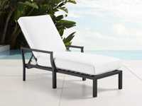 "Montego Outdoor 30"" Chaise in Slate"