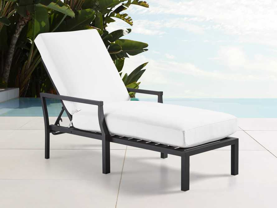 "Montego Outdoor 30"" Chaise in Slate, slide 1 of 7"