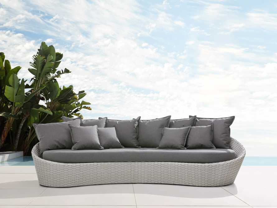 "Monterey 122"" Curved Sofa, slide 2 of 7"