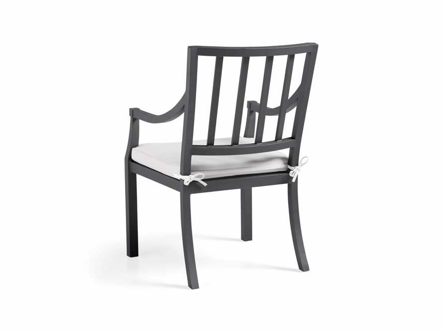 "Montego Outdoor 23"" Dining Arm Chair in CANVAS WHITE"