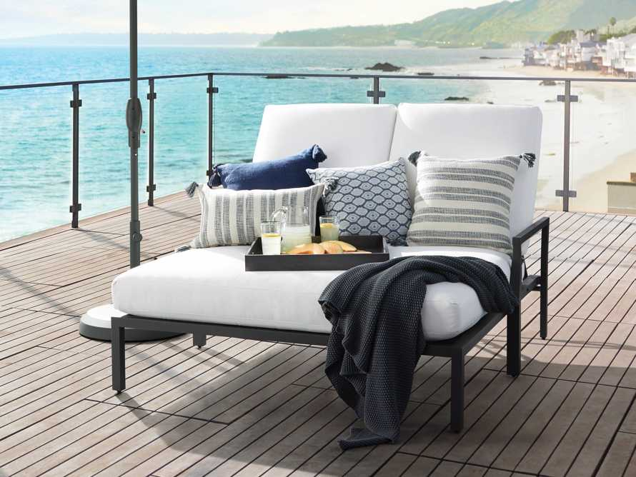 """Montego Outdoor 62.25"""" Double Chaise, slide 1 of 7"""