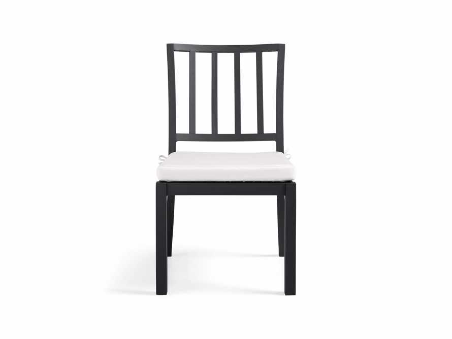 """Montego Outdoor 20"""" Dining Side Chair in Slate, slide 2 of 8"""