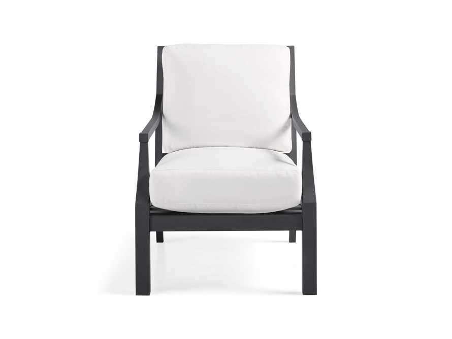 "Montego Outdoor 27"" Lounge Chair in Slate, slide 2 of 8"