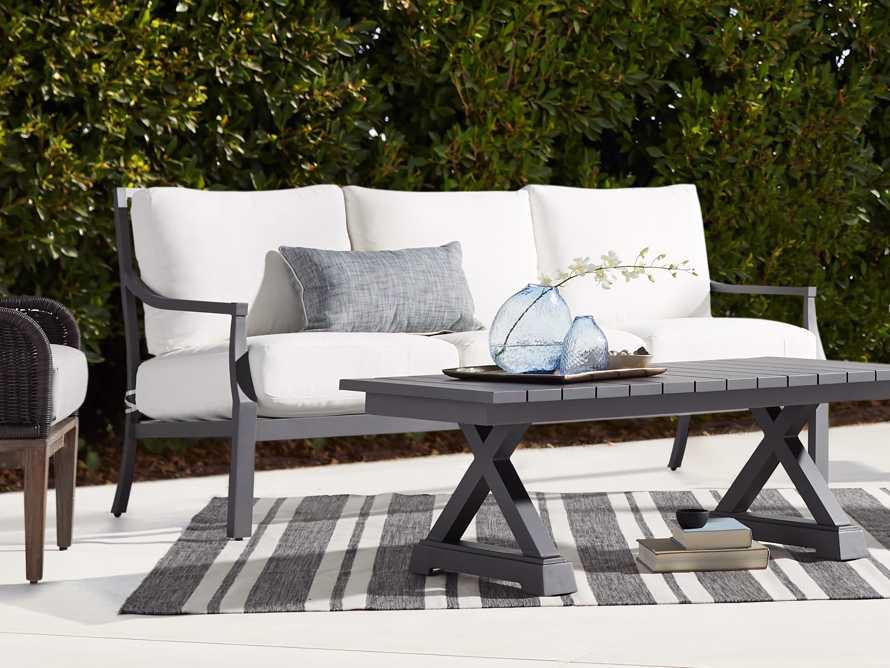 """Montego Outdoor 79"""" Sofa in Slate, slide 1 of 7"""