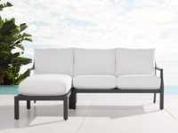 """Montego Outdoor 80.25"""" Two Piece Sectional"""