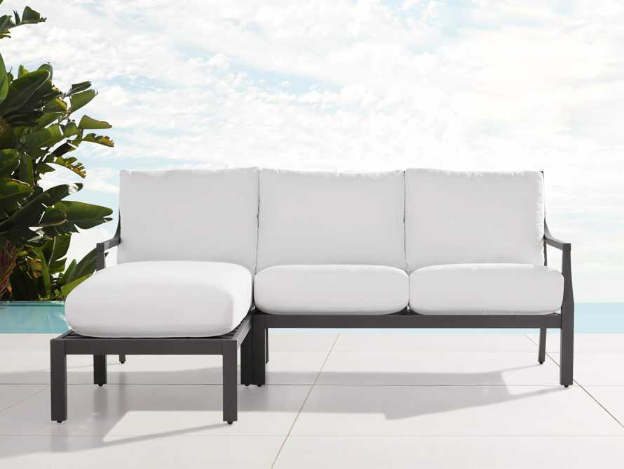 """Montego Outdoor 80.25"""" Two Piece Sectional, slide 1 of 5"""