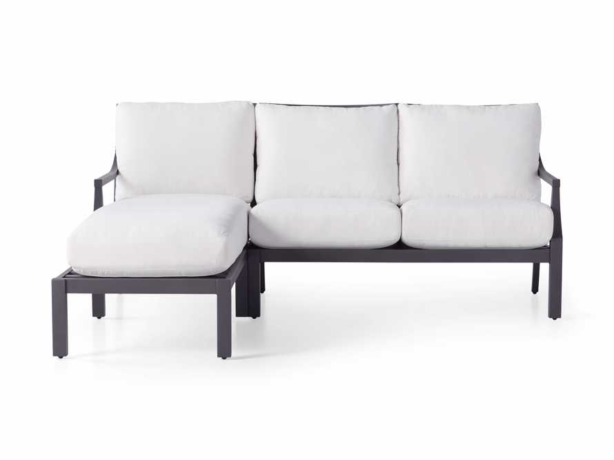 """Montego Outdoor 80.25"""" Two Piece Sectional, slide 3 of 5"""