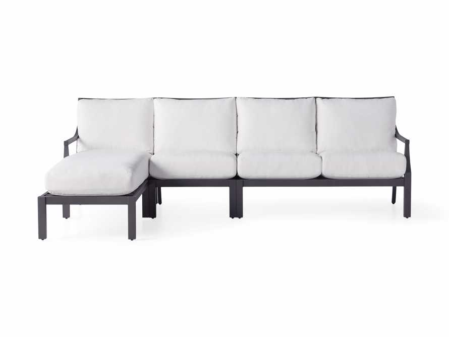 """Montego Outdoor 107"""" Three Piece Sectional, slide 2 of 5"""