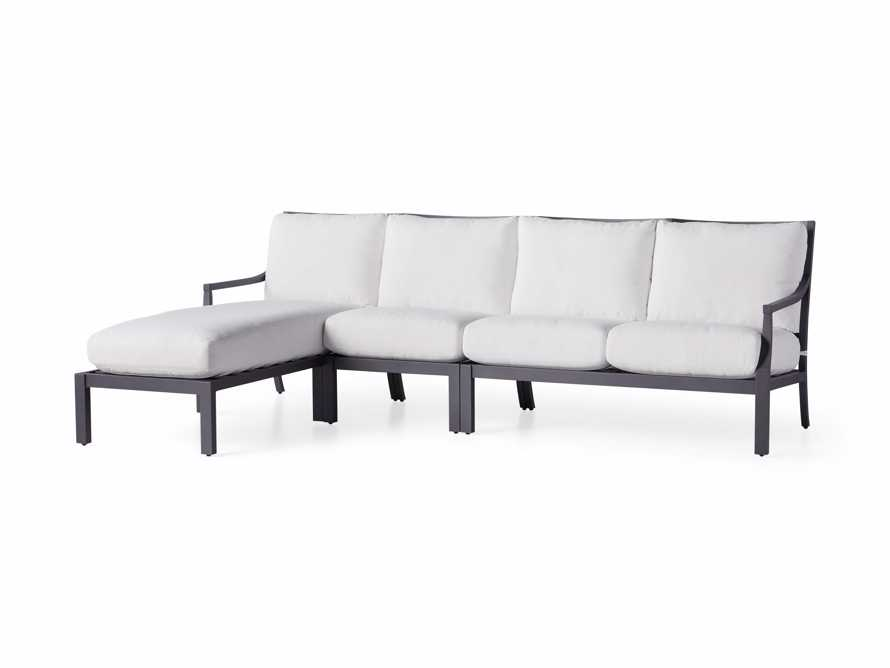 """Montego Outdoor 107"""" Three Piece Sectional, slide 3 of 5"""