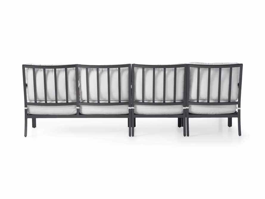 """Montego Outdoor 107"""" Three Piece Sectional, slide 4 of 5"""