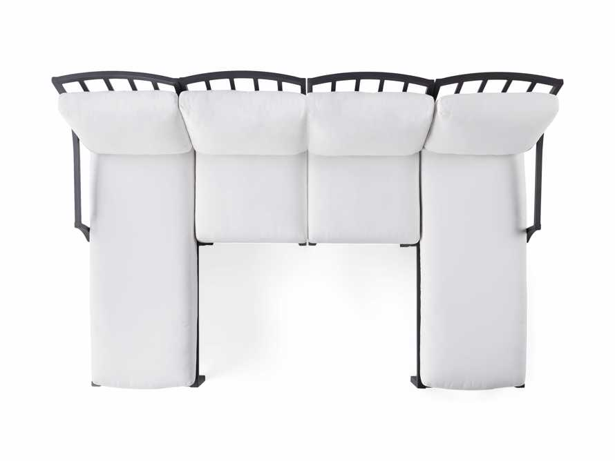 """Montego Outdoor 107"""" Four Piece Sectional, slide 3 of 3"""