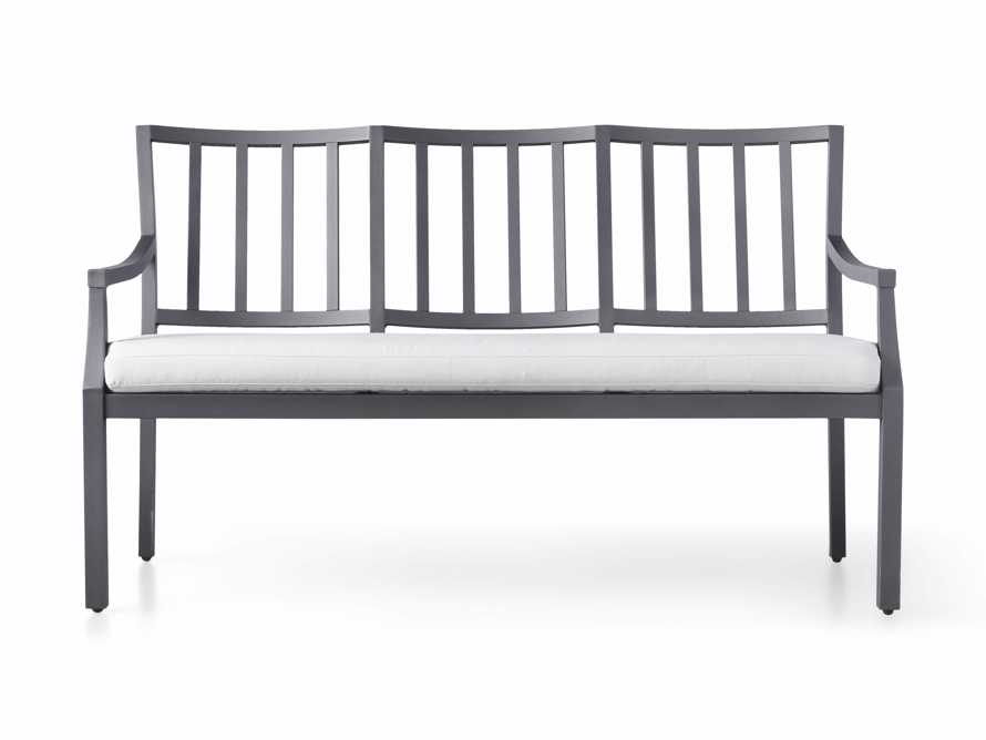 "Montego Outdoor 60"" Dining Bench, slide 2 of 6"