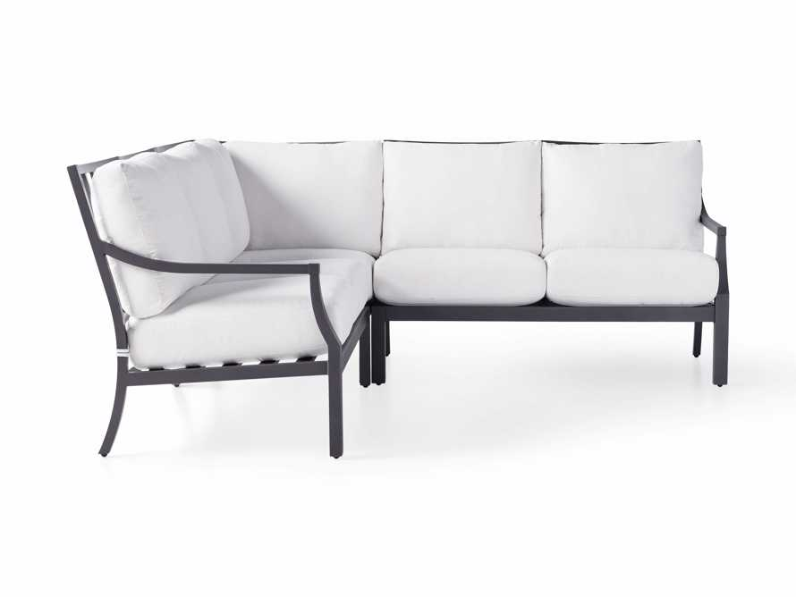 """Montego Outdoor 88"""" Three Piece Sectional, slide 2 of 5"""