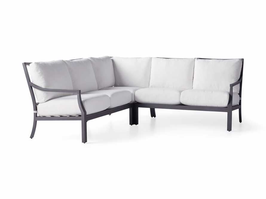 """Montego Outdoor 88"""" Three Piece Sectional, slide 3 of 5"""