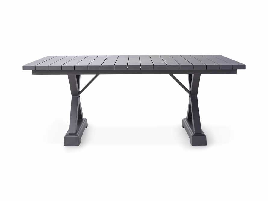 """Montego Outdoor 94"""" Dining Table in Slate, slide 3 of 6"""