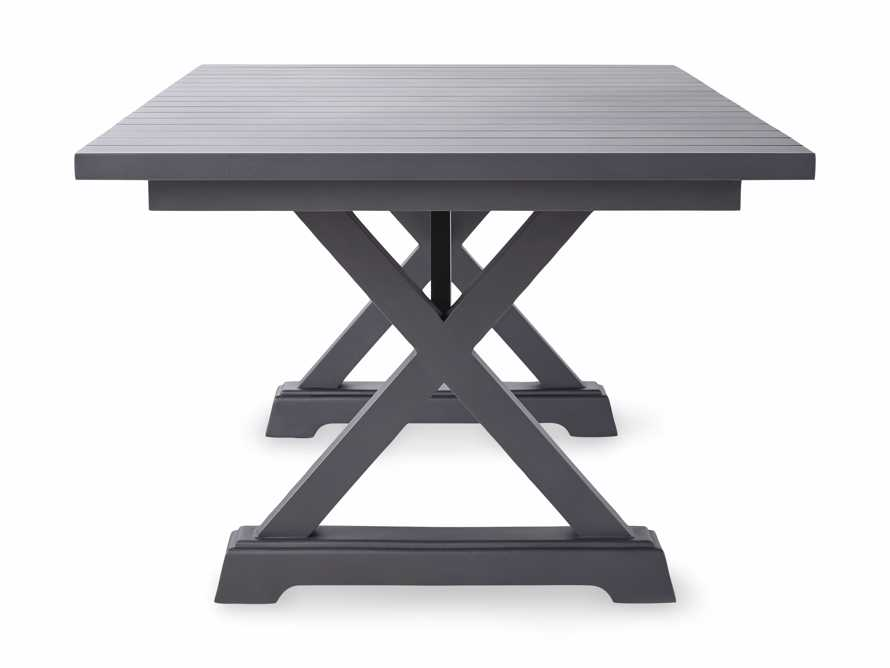 """Montego Outdoor 94"""" Dining Table in Slate, slide 4 of 6"""