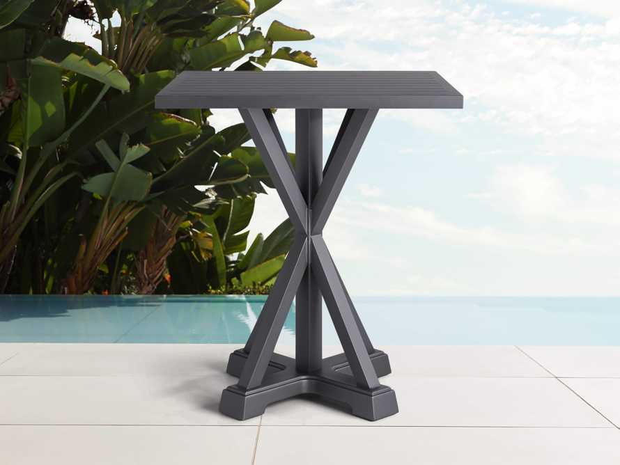 "Montego Outdoor 42"" Bar Table in Slate, slide 1 of 2"