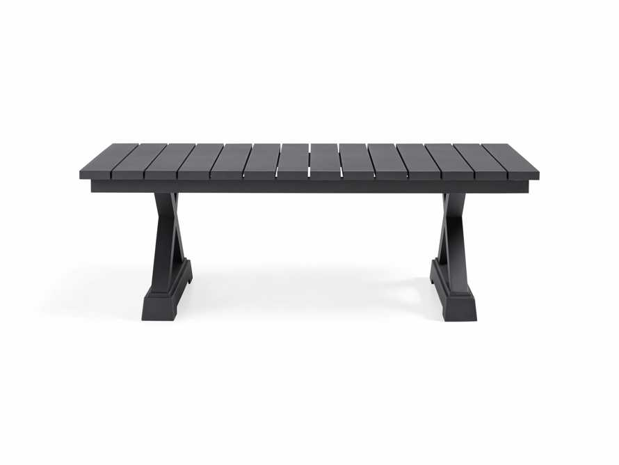 Montego Outdoor Coffee Table in Slate, slide 3 of 5