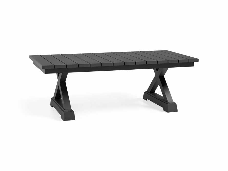 Montego Outdoor Coffee Table in Slate, slide 4 of 5