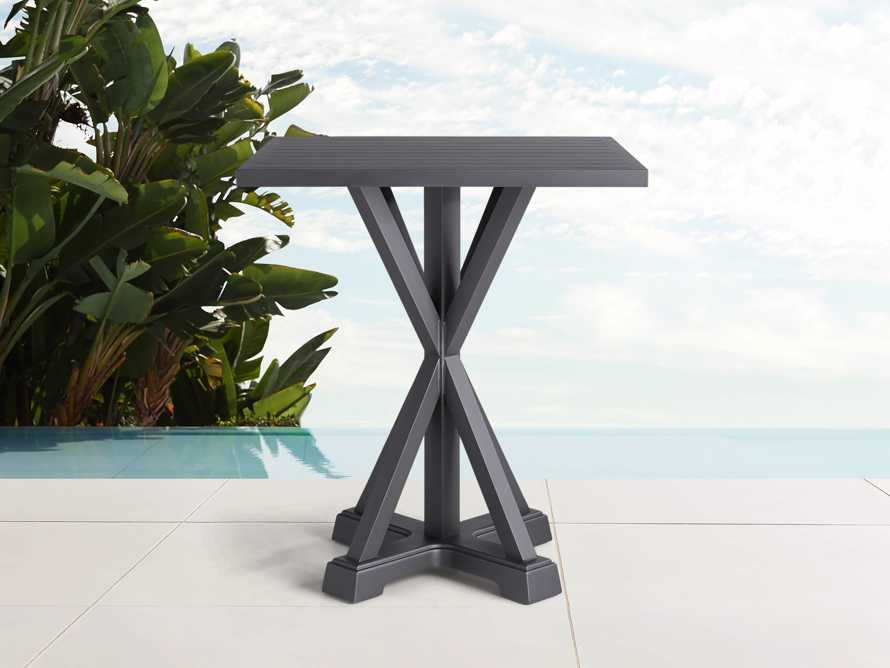 "Montego Outdoor 36"" Counter Table in Slate, slide 1 of 2"