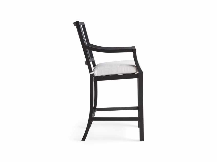 "Montego Outdoor 44"" Counter stool in Slate, slide 3 of 5"