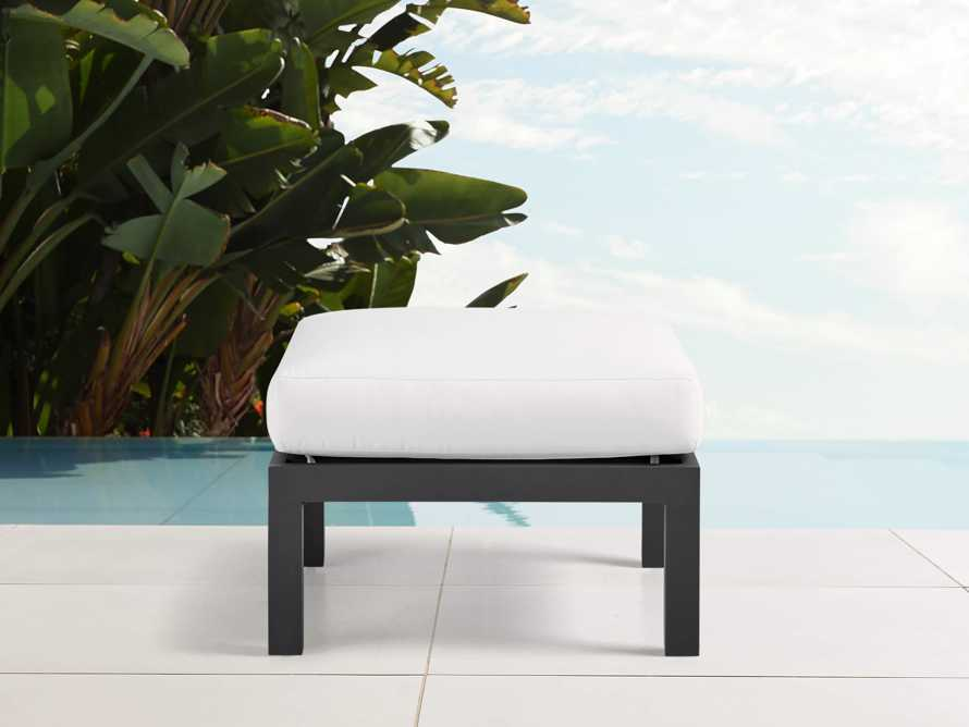 "Montego Outdoor 26"" Ottoman in Slate, slide 1 of 4"