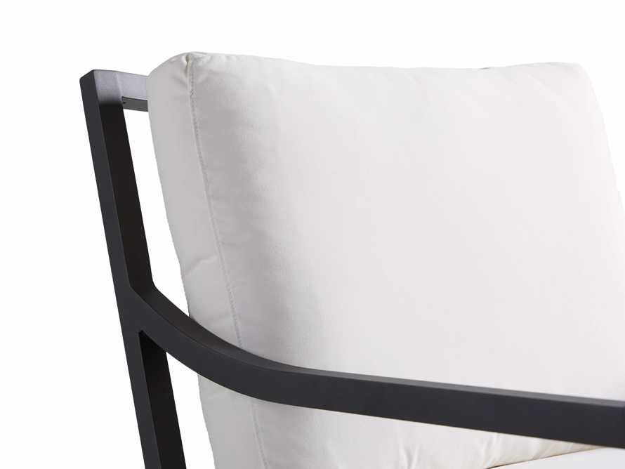 "Montego Outdoor 27"" Rocking Chair in Slate, slide 6 of 6"