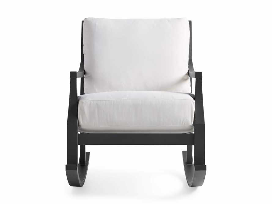 "Montego Outdoor 27"" Rocking Chair in Slate, slide 3 of 6"
