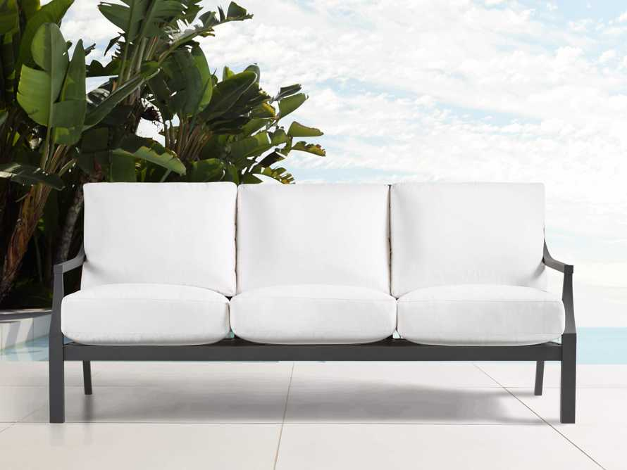 "Montego Outdoor 79"" Sofa Replacement Cushions, slide 2 of 2"
