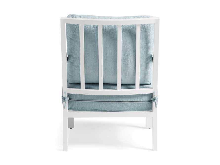 """Montego Outdoor 27"""" Lounge Chair in Blanc, slide 5 of 9"""