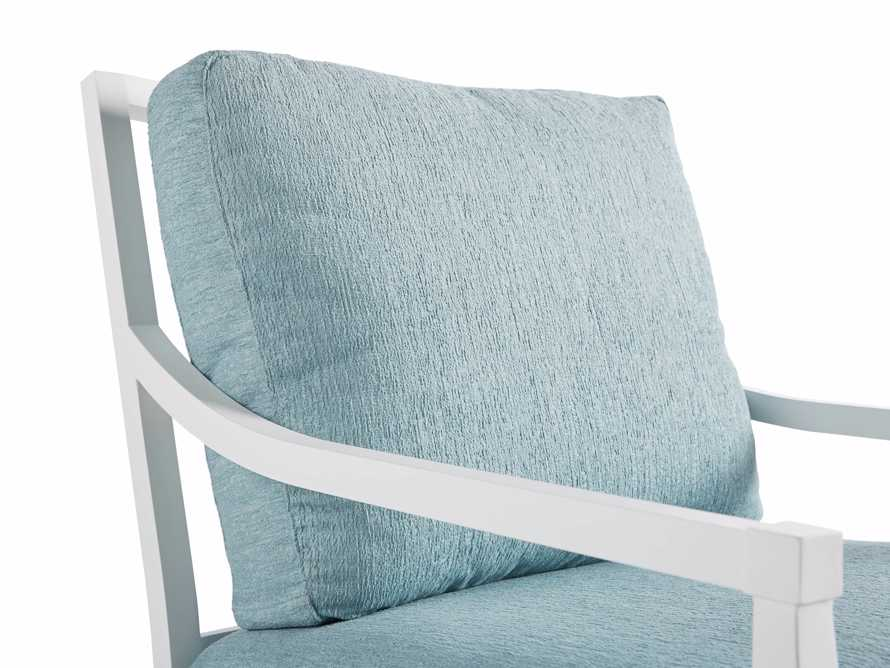 """Montego Outdoor 27"""" Lounge Chair in Blanc, slide 6 of 9"""