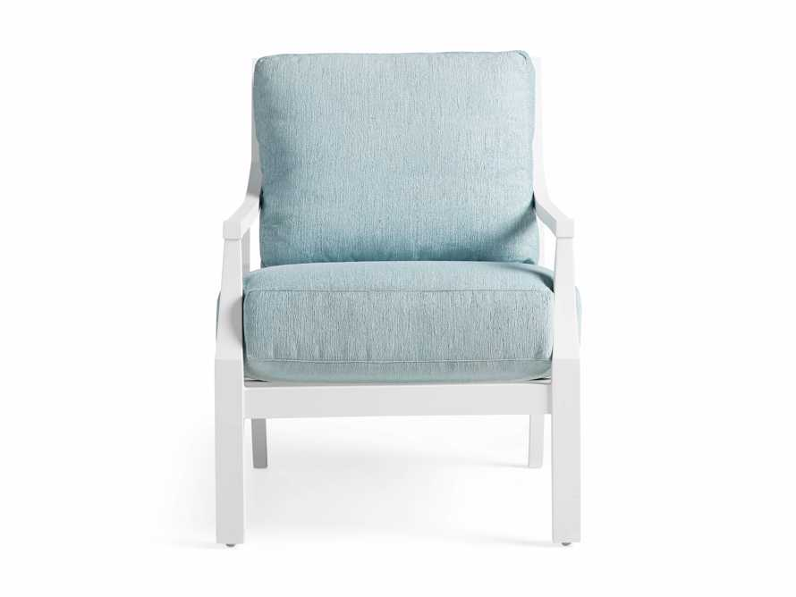 """Montego Outdoor 27"""" Lounge Chair in Blanc, slide 3 of 9"""