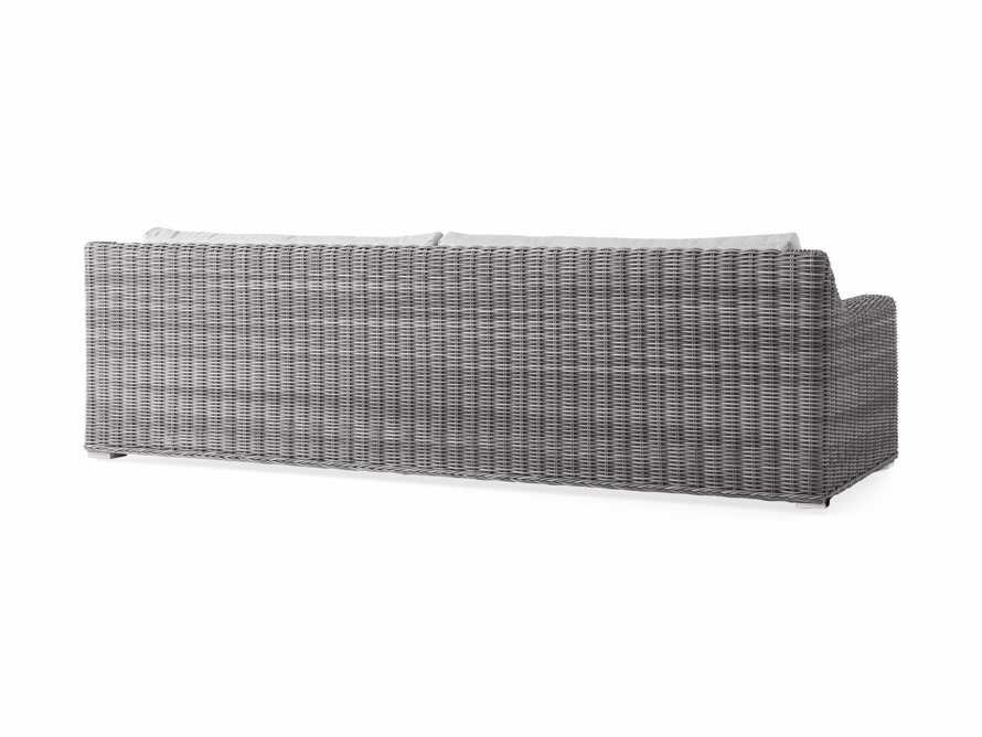 """Montauk Outdoor 107"""" in Vista Grey, slide 5 of 5"""
