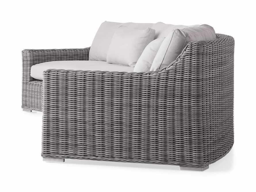 "Montauk Outdoor 186.5"" Modular Sofa in Vista Grey, slide 4 of 7"