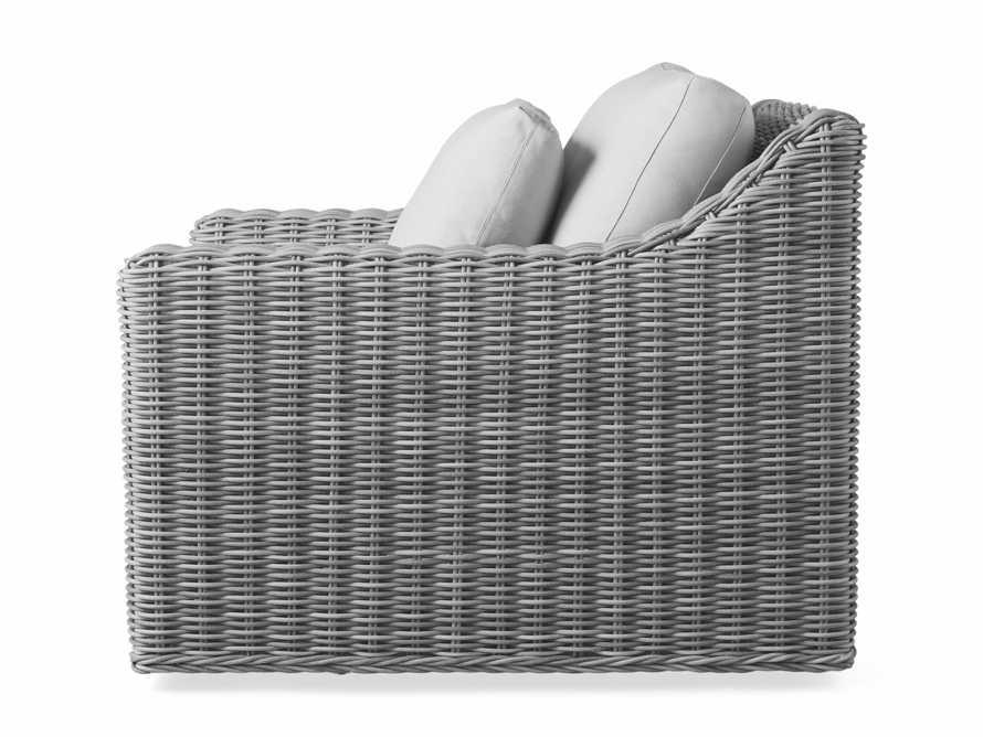 """Montauk Outdoor 38.5"""" Swivel Chair in Vista Grey, slide 5 of 7"""
